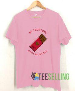 True Love Valentines T shirt Adult Unisex Size S-3XL