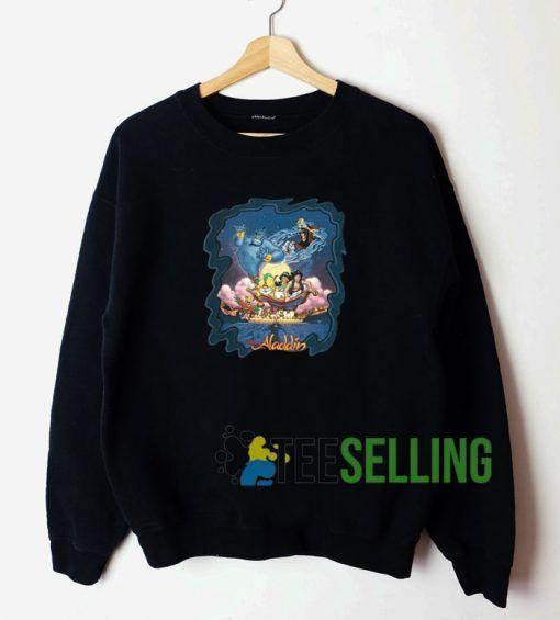 Vintage 1992 Aladdin Unisex Sweatshirt Unisex Adult