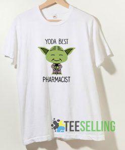 Yoda Best Pharmacist T shirt Adult Unisex Size S-3XL