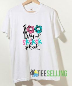 100th Day Of School T shirt Adult Unisex Size S-3XL