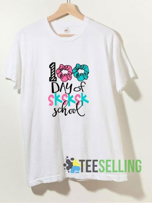 100th Day Of School T shirt Adult Unisex Size S 3XL