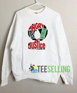 Afro Justice Unisex Sweatshirt Unisex Adult