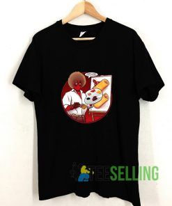 Deadpool Bob Ross T shirt Adult Unisex Size S-3XL