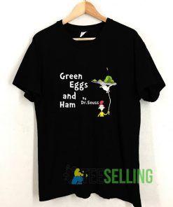 Dr Seuss Green Eggs And Ham T shirt Adult Unisex Size S-3XL