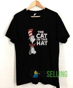 Dr Seuss The Cat in the Hat T shirt Adult Unisex Size S-3XL