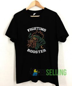 Fighting Rooster T shirt Adult Unisex Size S-3XL