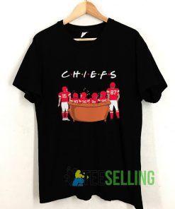 Friends TV Show Kansas City Chiefs T shirt Adult Unisex Size S-3XL