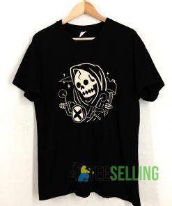 Grim Biker T shirt Adult Unisex Size S-3XL