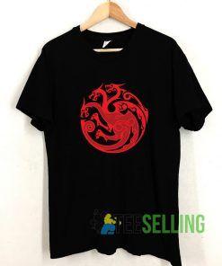 House Targaryen Sigil T shirt Adult Unisex Size S-3XL