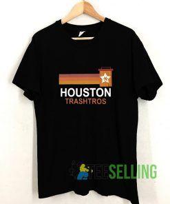 Houston Trashtros Asterisks T shirt Adult Unisex Size S-3XL