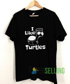 I like Turtles T shirt Adult Unisex Size S-3XL