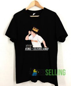 King of Cleveland Shirt Cleveland T shirt Adult Unisex Size S-3XL