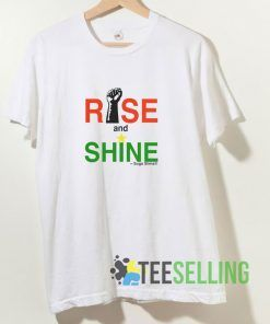 Rise and Shine Women's Slim T shirt Adult Unisex Size S-3XL