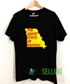 The Great State of Kansas or Missouri T shirt Adult Unisex Size S-3XL