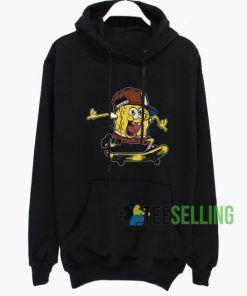 The Skate Spongebob Hoodie Adult Unisex