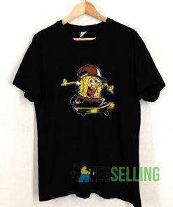 The Skate Spongebob T shirt Adult Unisex Size S-3XL