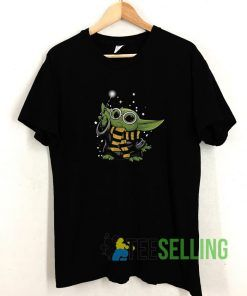 The Witch Baby Yoda The Mandalorian T shirt Adult Unisex Size S-3XL