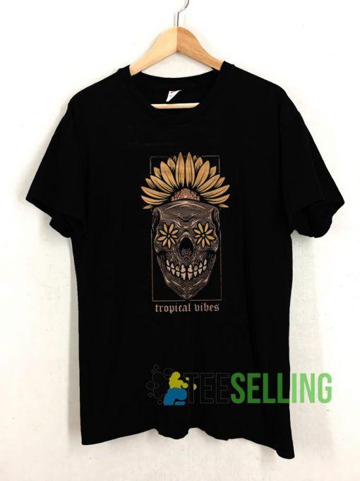 Tropical Vibes T shirt Adult Unisex Size S-3XL