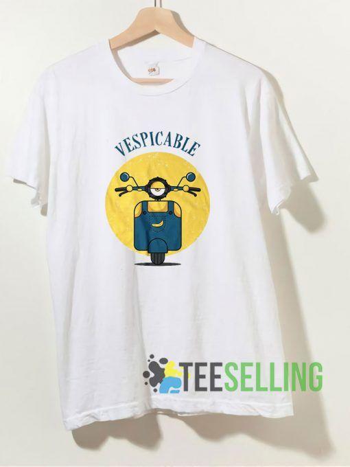 Vespicable Me T shirt Adult Unisex Size S-3XL