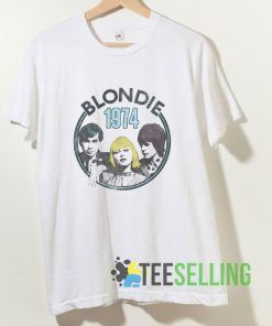 1974 Group Photo Blondie T shirt Adult Unisex Size S-3XL