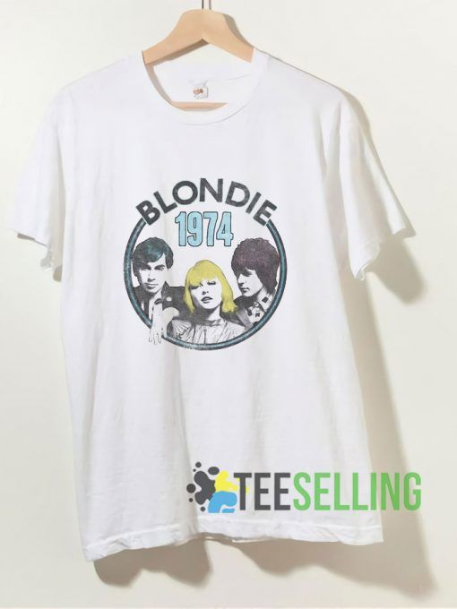 1974 Group Photo Blondie T shirt Adult Unisex Size S 3XL