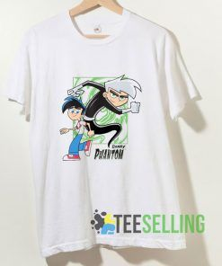 Danny Phantom Graphic T shirt Adult Unisex Size S-3XL