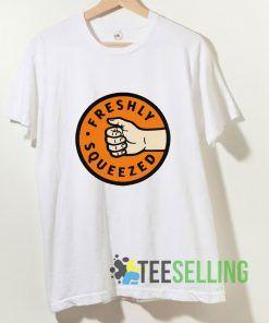 Freshly Squeezed Orange T shirt Adult Unisex Size S-3XL