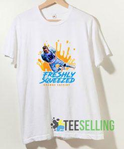 Freshly Squeezed Orange Cassidy T shirt Adult Unisex Size S-3XL