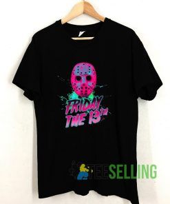 Friday 13th Halloween T shirt Adult Unisex Size S-3XL