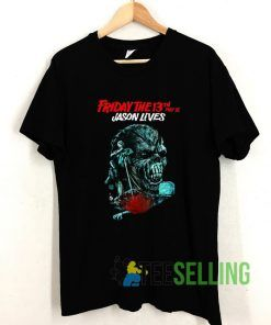 Friday The 13th Jason Lives T shirt Adult Unisex Size S-3XL