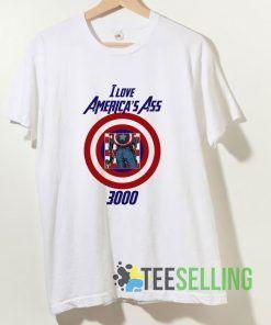 I Love Americas Ass 3000 T shirt Adult Unisex Size S-3XL