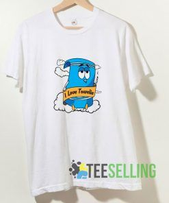I Love Towelie T shirt Adult Unisex Size S-3XL