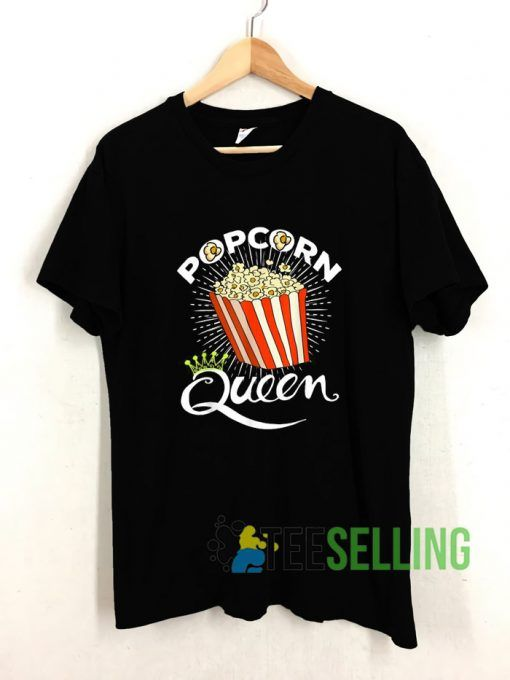 Popcorn Queen T shirt Adult Unisex Size S-3XL
