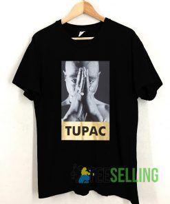 TUPAC Logo T shirt Adult Unisex Size S-3XL