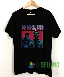 The Weeknd Vintage T shirt Adult Unisex Size S-3XL