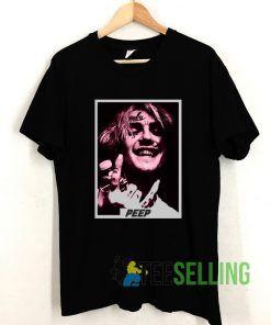 Top Lil Peep Rapper T shirt Adult Unisex Size S-3XL