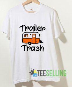 Trailer Trash T shirt Adult Unisex Size S-3XL