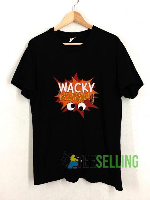 Wacky Wednesday Googly Eyes T shirt Adult Unisex Size S-3XL