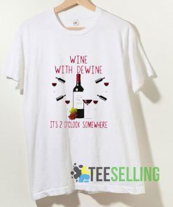 Wine With Dewine Rod Wine Mike T shirt Adult Unisex Size S-3XL