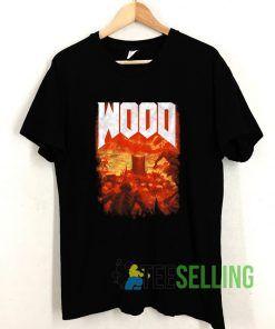 Wood T shirt Adult Unisex Size S-3XL