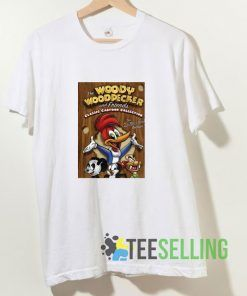 Woody The Wood Pecker T shirt Adult Unisex Size S-3XL