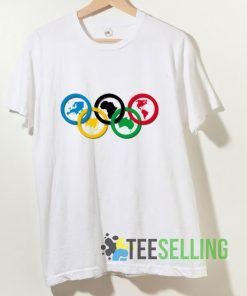 World Olympic Ring T shirt Adult Unisex Size S-3XL