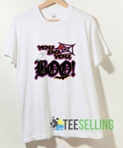 You Do You BOO Web Spider T shirt Adult Unisex Size S-3XL