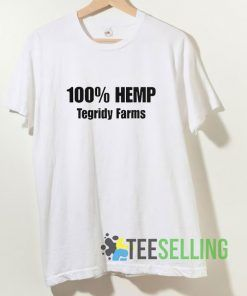 100% Hemp Tegridy Farms T shirt Adult Unisex Size S-3XL