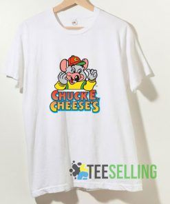 Chuck E Cheeses T shirt Adult Unisex Size S-3XL