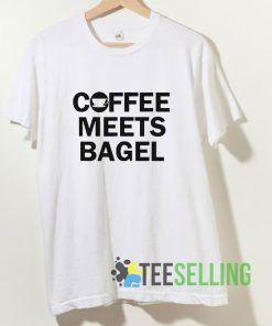 Coffee Meets Bagel T shirt Adult Unisex Size S-3XL