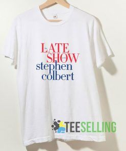Colbertlateshow T shirt Adult Unisex Size S-3XL