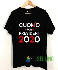 Cuomo For President 2020 T shirt Adult Unisex Size S-3XL