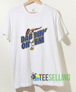 Dab Steph Curry T shirt Adult Unisex Size S-3XL