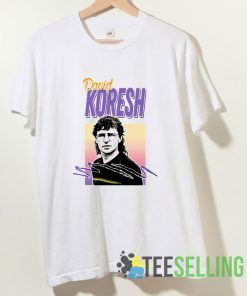 David Koresh 90s Style Aesthetic T shirt Adult Unisex Size S-3XL